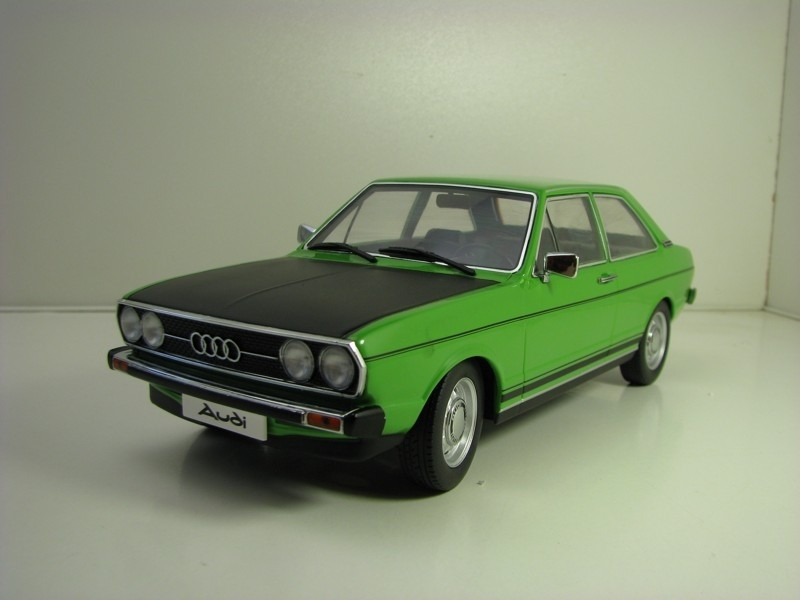 Audi 80 GT/E B1 1975 Green Black 1:18 KK Scale